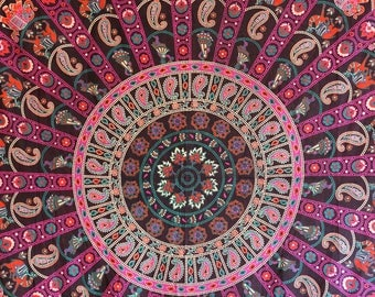 Mandala Tapestry Boho Decor Wall Tapestries Indie Decor Bohemian Tapestry Wall Hanging Yoga Decor Modern Tapestry Hippie Tapestry wall decor