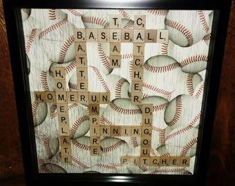 Baseball Scrabble Picture