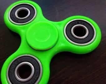 NEW MODEL! Best Fidget Spinner Toy! Triple Fidget Toy Spinner Fidget Hand Spinner with Ceramic Bearings. Spinner Fidget Custom Colors.