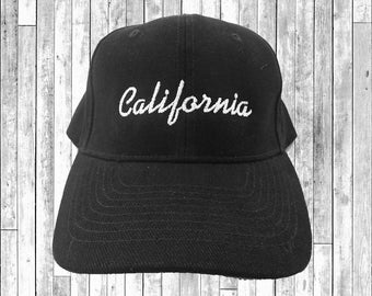 California Embroidered Baseball Cap 6 Panel Fashion Hat Tumblr Pintrest Trends
