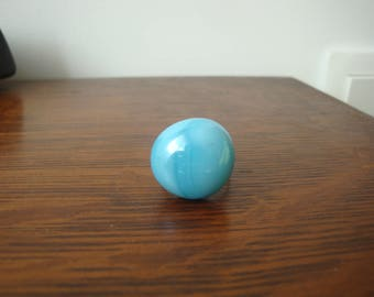 Pearl turquoise silver ring