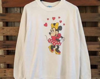 Vtg 90s disney mickey mouse sweatshirt !! Vintage