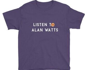 Youth Short Sleeve Alan Watts T-Shirt