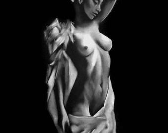 nude woman painting 46 pastel nude women painting