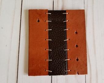 Leather Wine Bottle Coaster - Genuine Leather