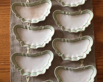 Antique Johnson bros England bone dishes