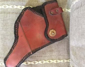 Vintage men's leather holster for Pistol