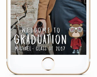 Kanye West Geofilter, Graduation Geofilter, Graduation Party, Graduation Snapchat Filter, Class of 2017, Graduation Filter