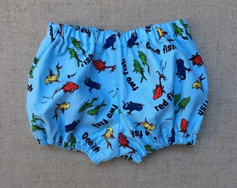 One Fish Two Fish Diaper cover