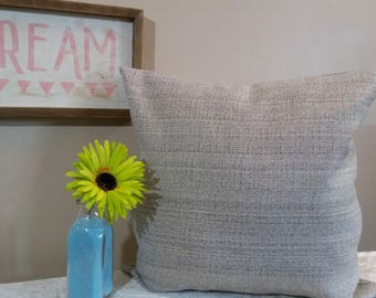 """20"""" x 20 """" Pillow Cover / solid"""