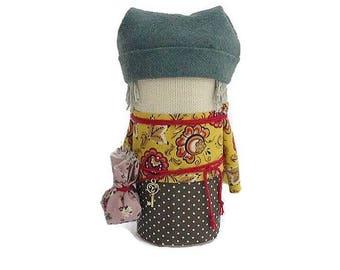 Talisman For home Slavic doll  Folk doll  Russian doll Doll ethnic Traditional doll Ragdoll Handmade doll Home doll Souvenir Gift Eco gift