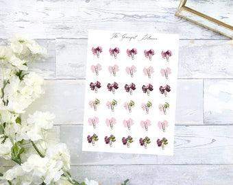 Blossom Bow Clip Sticker