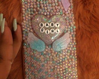 Baby girl phone case