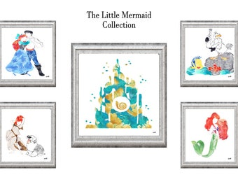Disney's The Little Mermaid Collection-INSTANT DIGITAL DOWNLOAD