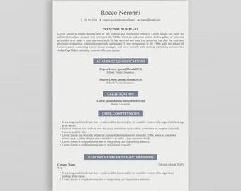 Modern Resume Template | Professional Resume Template | 3 Page Resume Template | Creative Resume| CV Design | Resume Template Professional