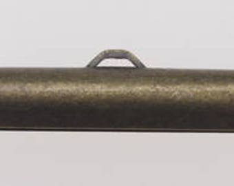Slider Ends 1in Vintage Bronze 10pc
