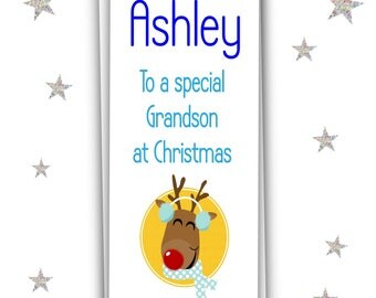 Personalised Christmas Money Wallet Grandson/Gift Voucher Card/Christmas Gift/Free UK Shipping