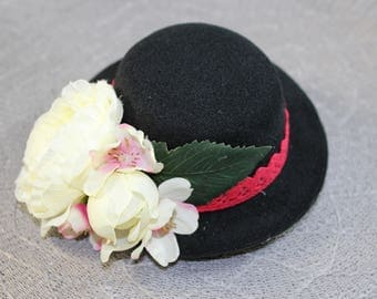 "Headpiece/Fascinator hat ""Estella"""