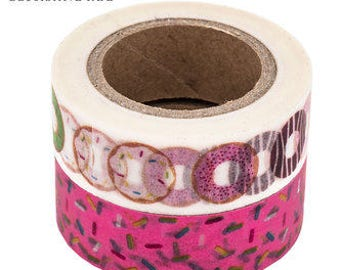 Donut & Sprinkles Washi Tape