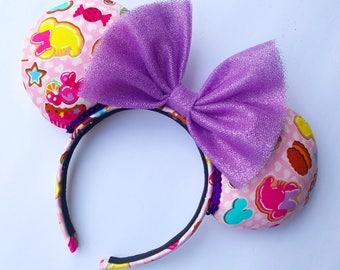 Sweet Treat Minnie ears, Theme Park ears, Mouse ears
