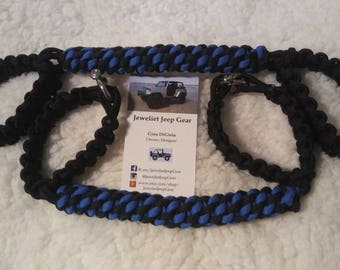 Jeep TJ Paracord Grab Handles
