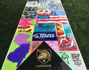 Personalized Beer Pong, Party Table