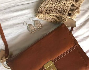 Brown Envelope Bag