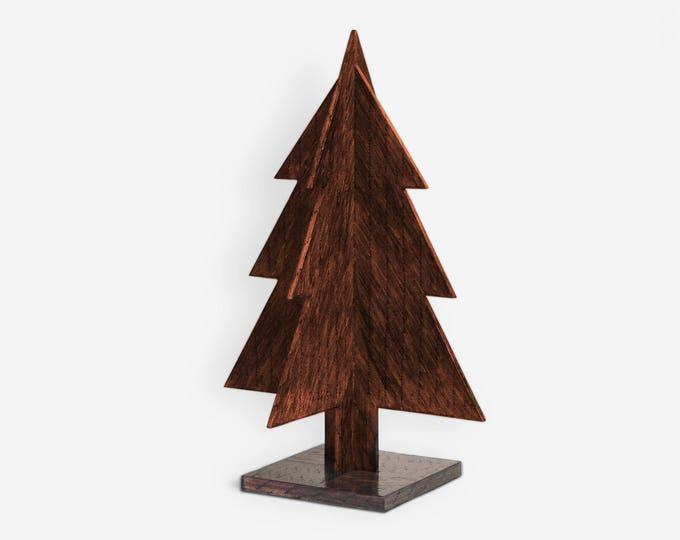 Handmade Christmas Tree by Burned Matchsticks
