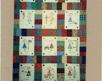 Simple Samplers 68 – Jane Coloring Quilt