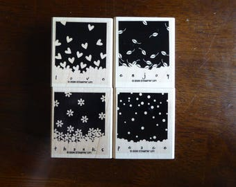Gently Falling Stamp Set by Stampin Up (Retired)