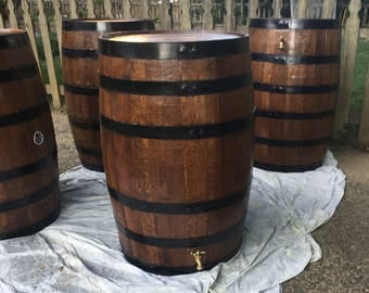 Recycled Wine and Whiskey Barrels to Rain Barrel or furniture