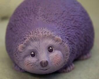 Hand-Painted Ceramic Hedgehog