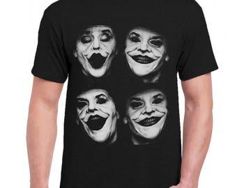 Joker Celebrities Men Tee Shirt T-Shirts Black / Dark Gray