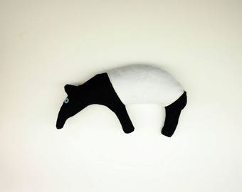 Two-legged Malayan Tapir Plush