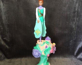"Vintage Skydancers ""storm"" flying spinner toy doll Galoob"