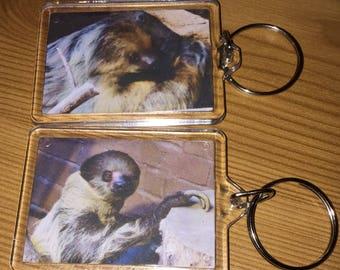 Sloth Keyrings pack