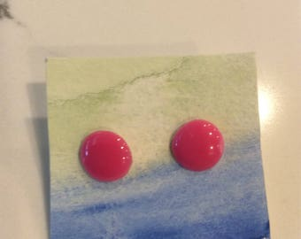 Melted Bead Earring