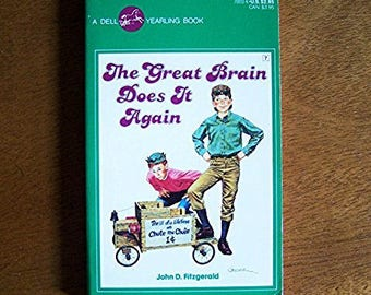 The Great Brain Does It Again by John Fitzgerald - Older Reader Children's Book - Great Brain Series # 7