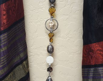 GLASS WALLS: Kelly's Crystals, Dingle Dangle Collection, Hanging Beads, Natural Light, Sparkling Beauty's~