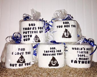 Funny Fathers Day Toilet Paper