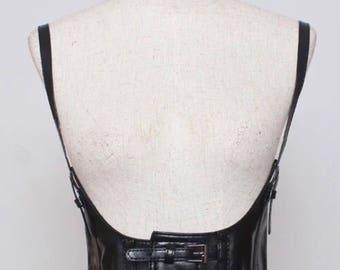 Body Corset Garter Belt Body Harness Steampunk