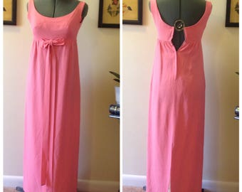 Vintage 60's maxi dress