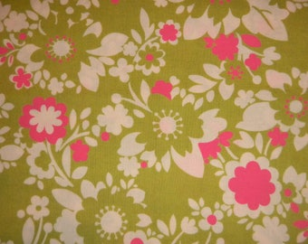 It's a Hoot pink-green by Moda