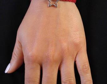 Hand made Crochet Bracelets