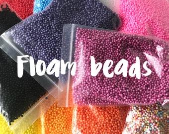 CHEAPEST Floam Beads - 0.2 - 0.4 cm