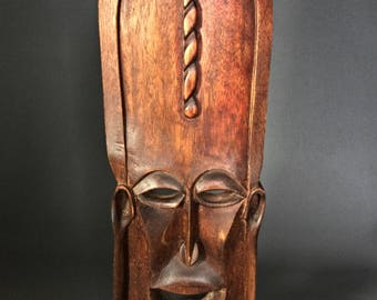 Original and therefore art African tribal mask.