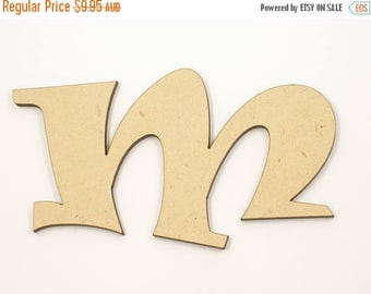 20% OFF 25cm MDF Wood Wooden Letters 3mm Thick RAVL