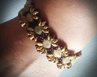 Honey Brown bracelet