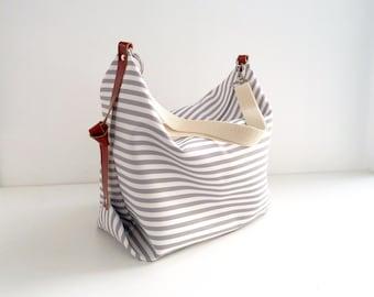 Maxi Bag, messenger bag, diaper bag Marina Grey