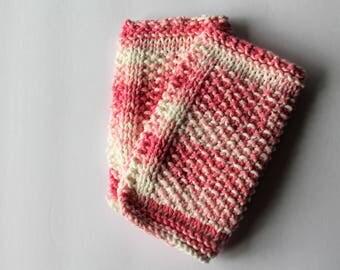 Knit Washcloth Baby Childrens Washcloth Bathtime Knitted Cotton Wash Cloth Baby Washcloth Baby Bathtime Baby Shower Gift
